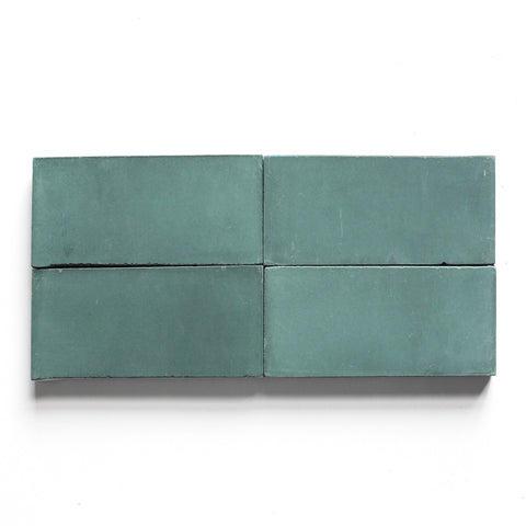"solid rectangle 4""x8""x5/8"" special order teal"