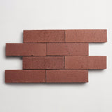 "foundry flats standard issue tarnish brick 2 1/2""x8""x1/2"""