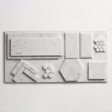 "clé basics carrara oversized subway tile 6""x12""x3/8"""