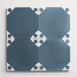 "cement cross federal blue square 8""x8""x5/8"""