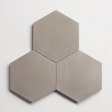 "cement solid metal hex 8""x9""x5/8"""