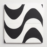 "cement rio black + white square 8""x8""x5/8"""