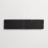 "cement solid black rectangle 3""x12""x5/8"" sample"