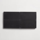 "solid rectangle black 4""x8""x5/8"""