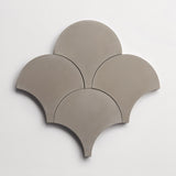 "cement solid metal scallop 8""x8""x5/8"""