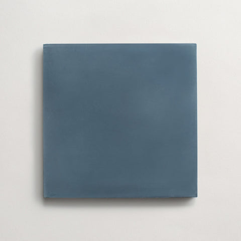 "cement solid federal blue square 8""x8""x5/8"" sample"
