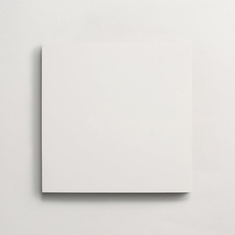 "cement solid white square 8""x8""x5/8"" sample"
