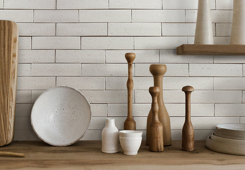 Cl 233 White Tile Collection