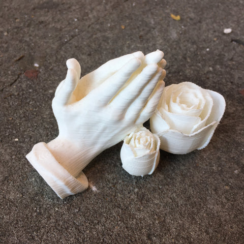 3D Printed - Prayer At The Altar Of Roses