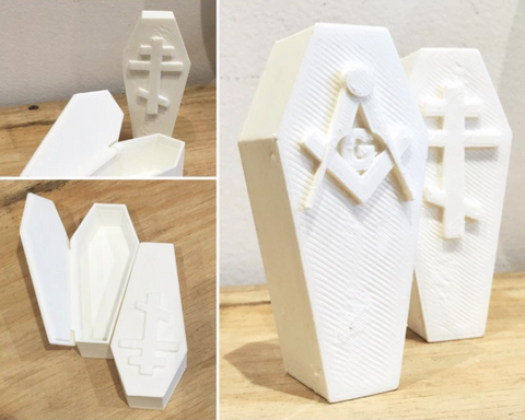 3D Printed - Coffin Box