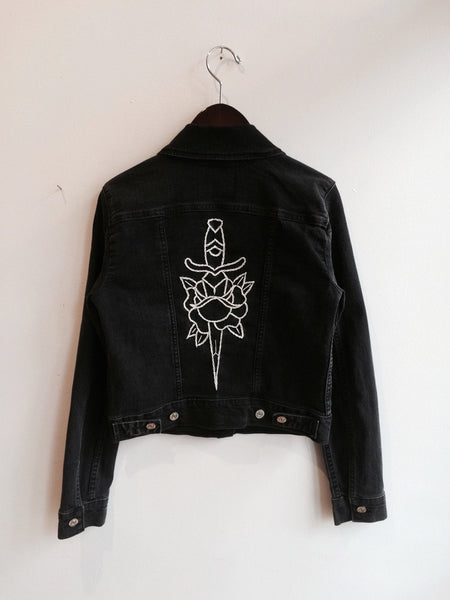 Dagger & Rose Embroidered Jacket