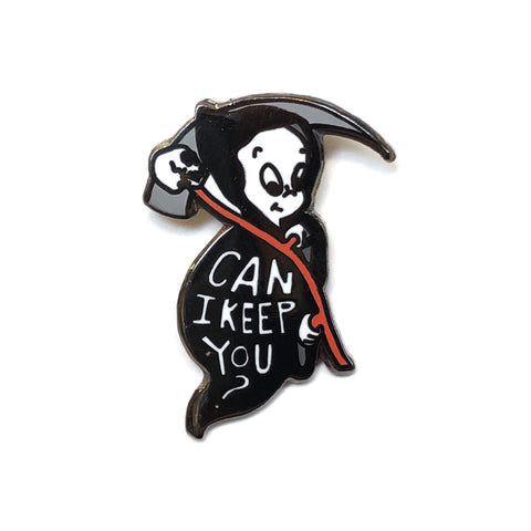 Can I Keep You (Casper) Lapel Pin