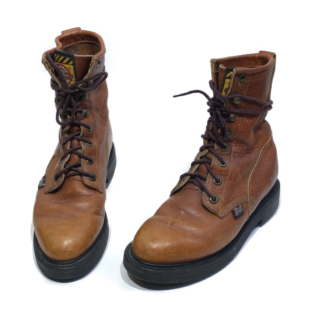 Lace-Up Justin Roper Workboots