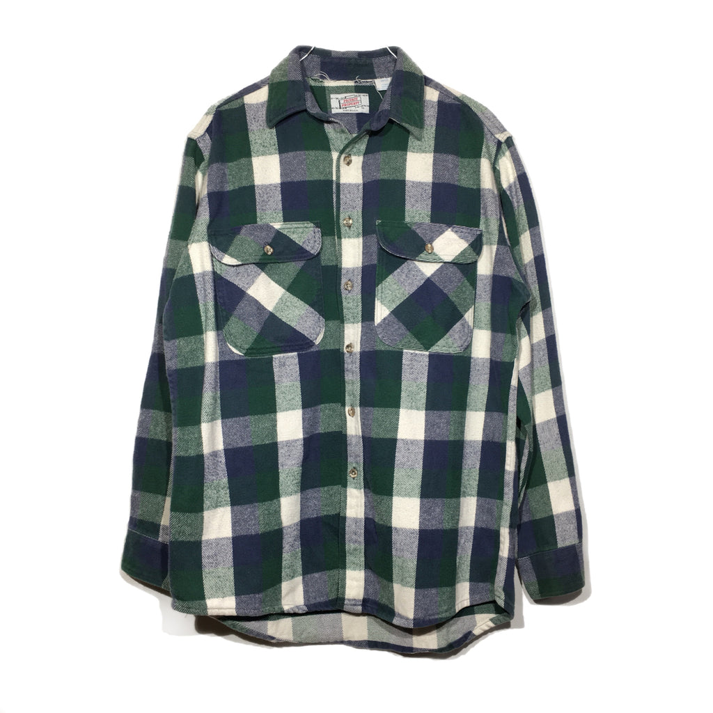 Blue & Green Flannel