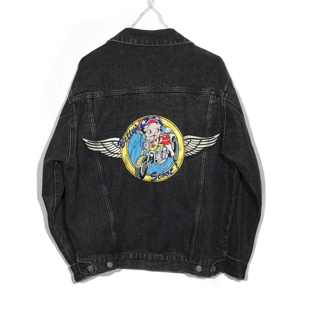 "Betty Boop ""Betty's Scoot"" Denim Jacket"