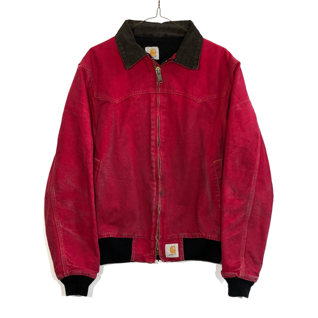Faded Red Carhartt Jacket