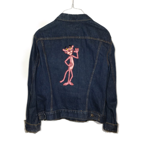 Pink Panther Chain-Stitched Levi's Jacket
