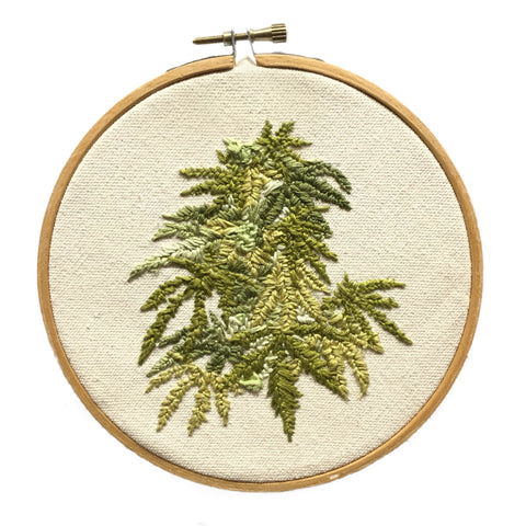"""Personal Growth"" Hoop Embroidery - Artist Series"