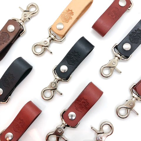 Leather Belt Key Clip - ULW x S&C