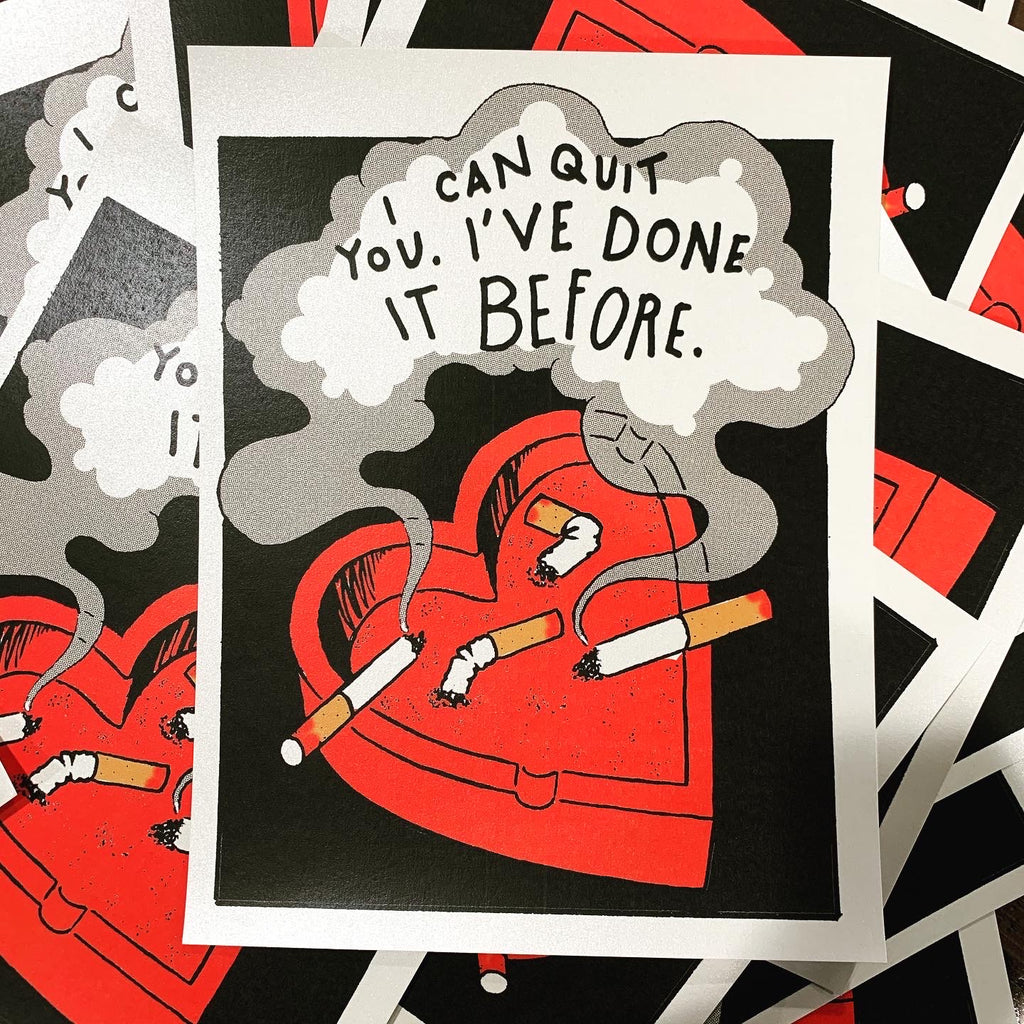 I CAN QUIT YOU - Subversive Valentine