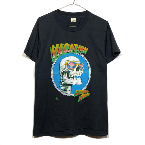 Paper Thin & Soft Vacation Skull Ground Zero A-Bomb Tee