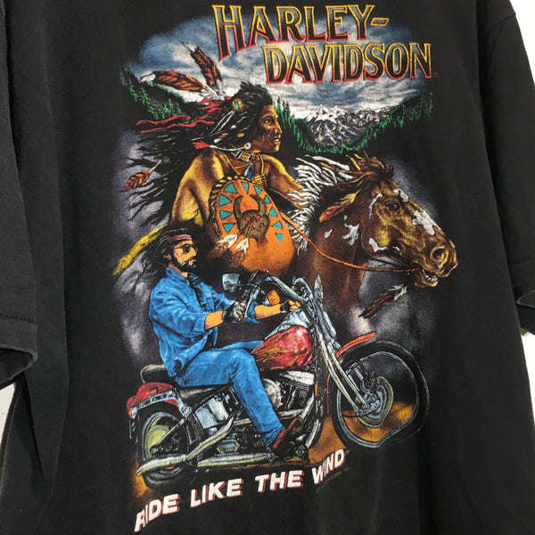 Ride Like The Wind Harley Tee