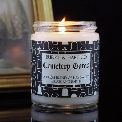 Scented Glass Jar Candles - Burke & Hare Co