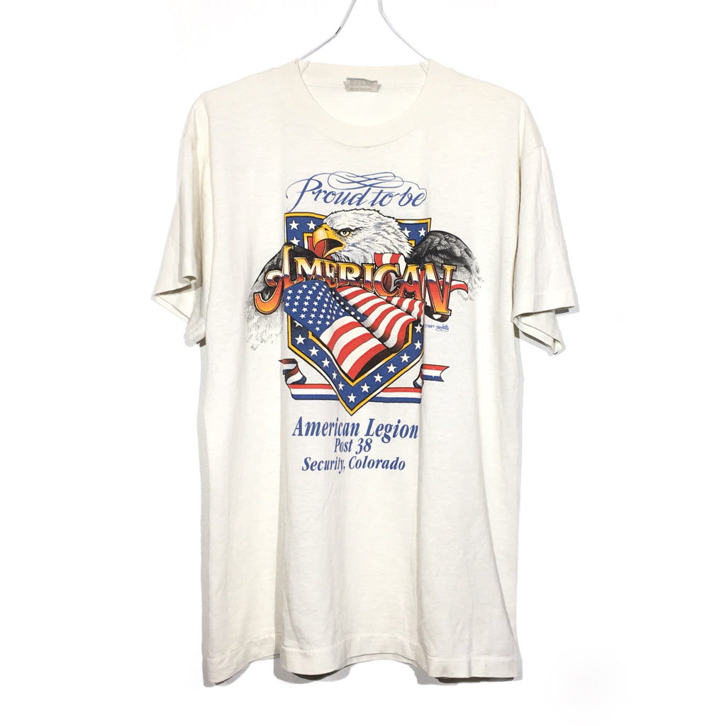 "Paper Thin ""Proud To Be American"" Tee"