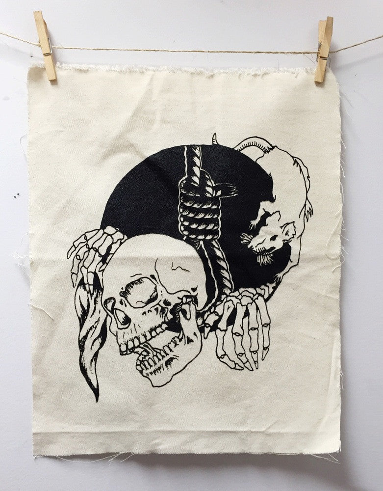 American Necktie Canvas Back Patch