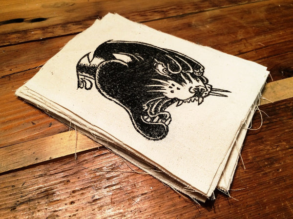 Panther Canvas Patch