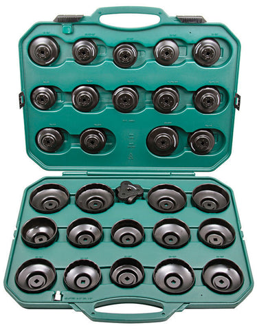 30PCS CUP TYPE OIL FILTER WRENCH KIT