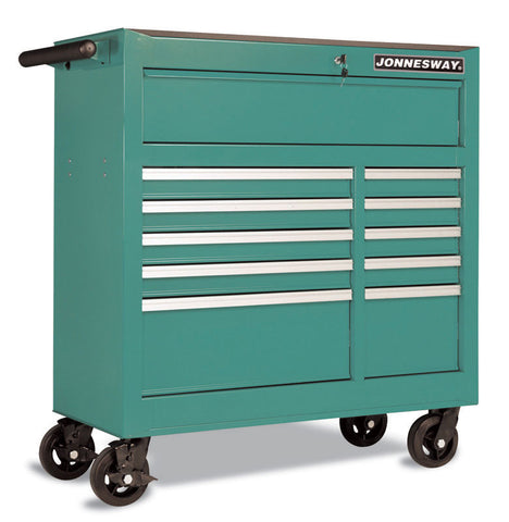 11 DRAWER ROLLER WAGON WITH HANDLE