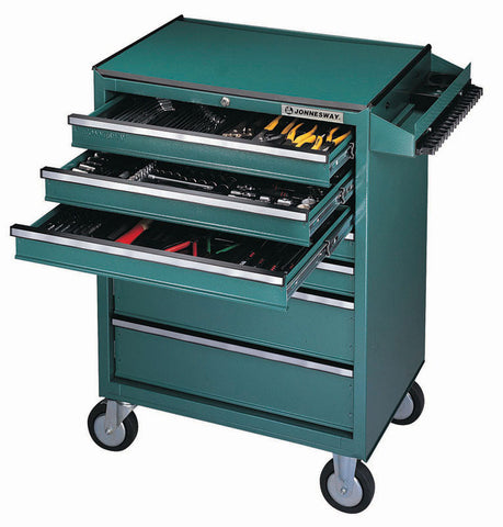 7-DRAWER TOOL TROLLEY W/ TABLE
