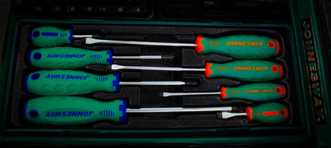 8PCS NON-SLIP SCREWDRIVER SET