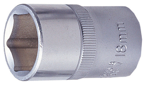 "3/8"" DRIVE 6 POINT FLANK SOCKETS"