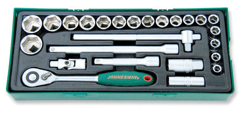 "25 PIECE 1/2"" DRIVE SOCKET SET"