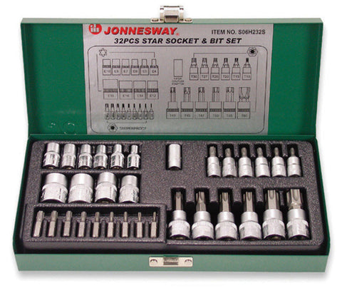 32 PIECE STAR SOCKET & BIT SET