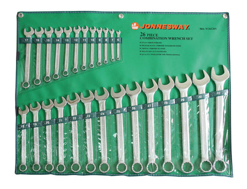 26PCS GERMAN TYPE COMB WRENCH SET