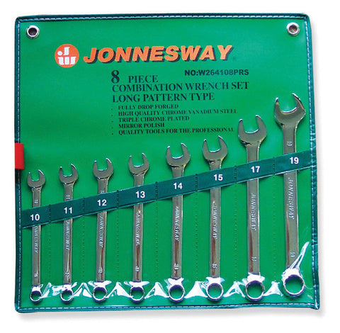8 PIECE COMBINATION WRENCH SET METRIC