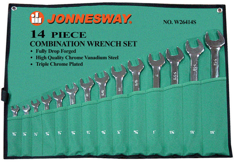 14PC COMBINATION WRENCH SET SAE