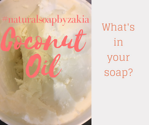 Coconut Oil in Natural Soap Recipes