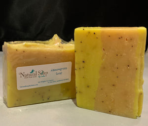 Lemongrass and Poppyseed Soap