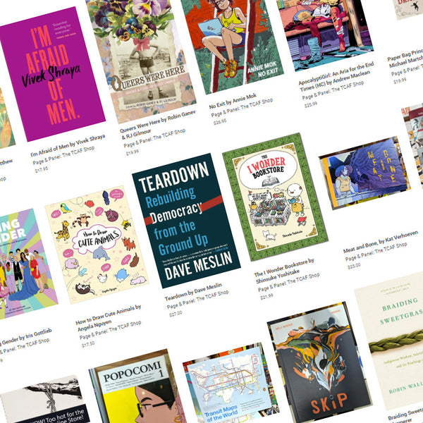 Books: Graphic Novels, Prose, Picture books and more!