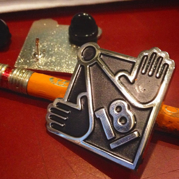 Adults Only Symbol Pin - Beguiling Exclusive!