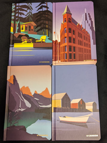 Canada Journals by Pascal Blanchett