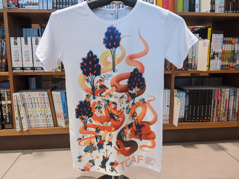 Sublimated TCAF T-Shirt by Eleanor Davis