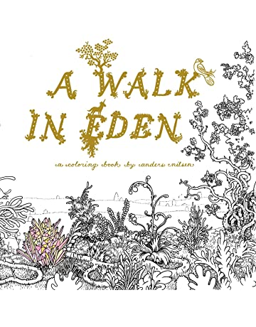 A Walk in Eden by Anders Nilsen (colouring book)