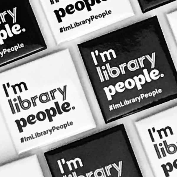 I'm Library People Tee ($5 donation to TPL included in price)