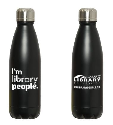 I'm Library People Water Bottle