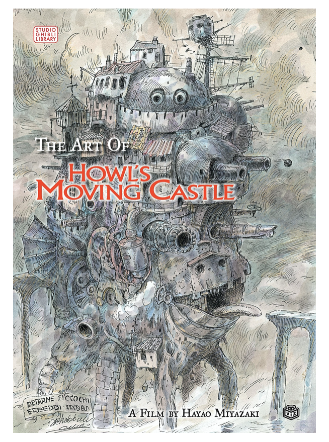 ART OF HOWL'S MOVING CASTLE